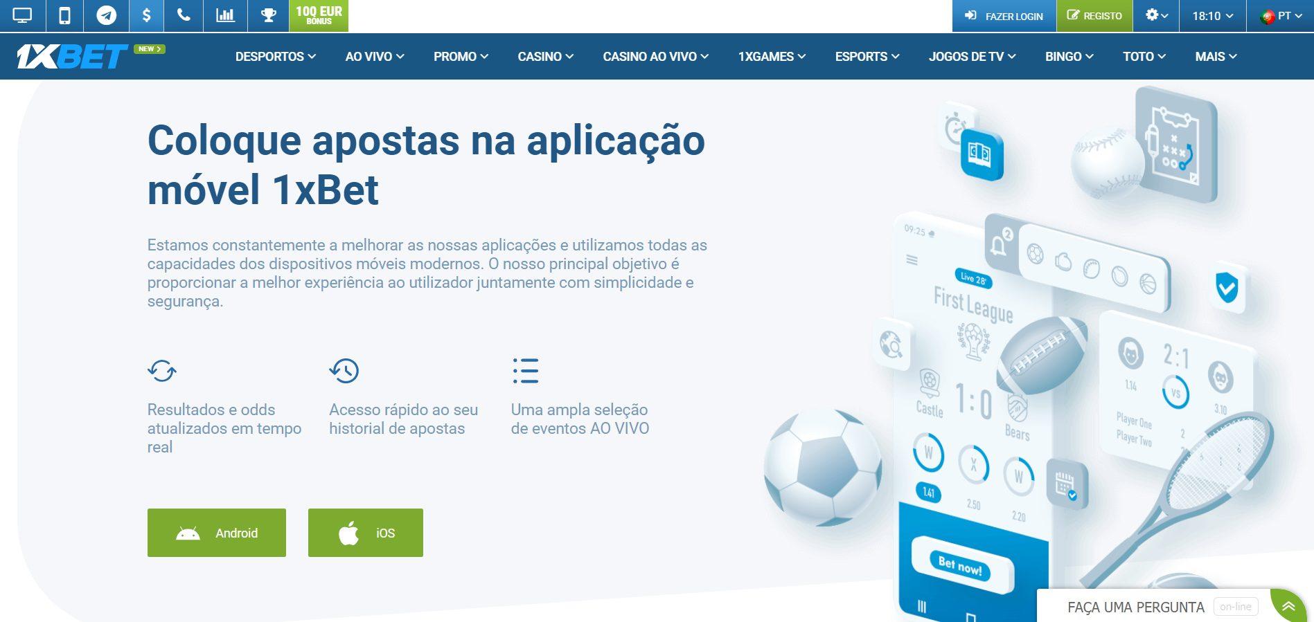 1xBet app Portugal